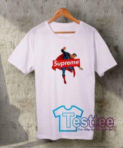 Cheap Vintage Tees Supreme X Superman