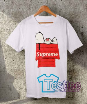 Cheap Vintage Tees Supreme X Snoopy