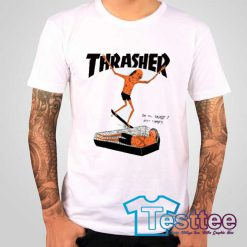 Cheap Thrasher Surf On You Tees