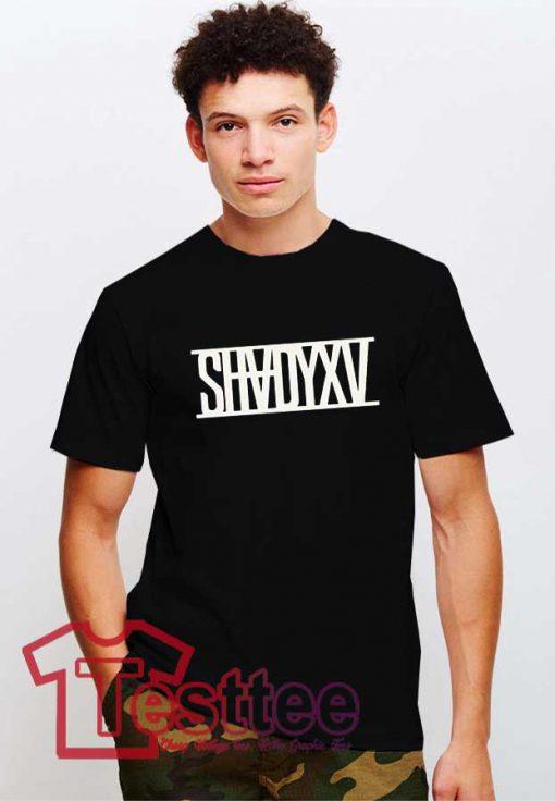 Cheap Vintage Eminem ShadyXV Albums Tee