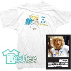 Cheap Vintage Cherrie Currie I'm Little Angel Tee