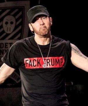 Cheap Vintage Eminem Fack Trump Tee