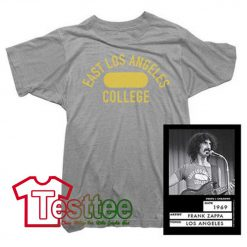Cheap Vintage Frank Zappa East Los Angeles College Tees