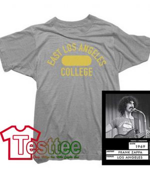Cheap Vintage Frank Zappa East Los Angeles College Tees