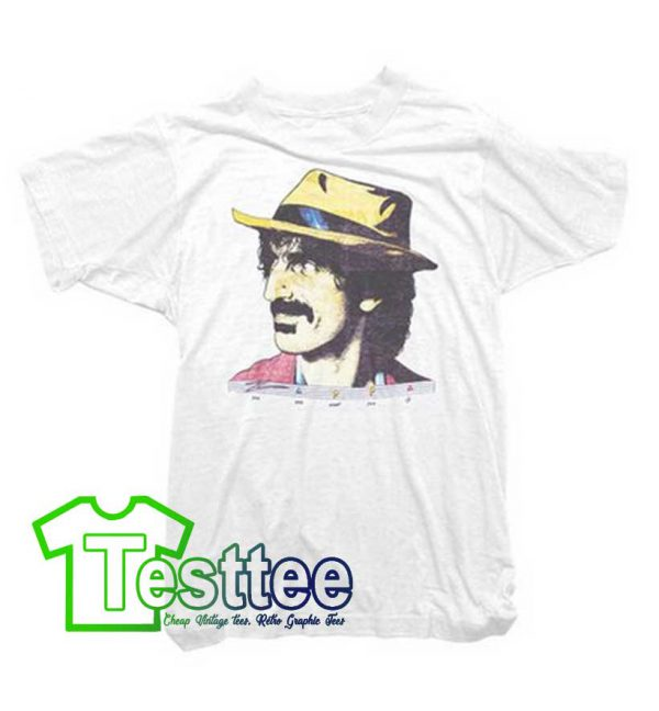 Cheap Vintage Frank Zappa Hat Tees