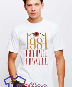 Cheap Vintage George Orwell 1984 Tee