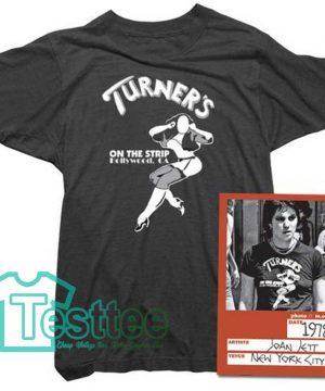 Cheap Vintage Joan Jett Turners Tee