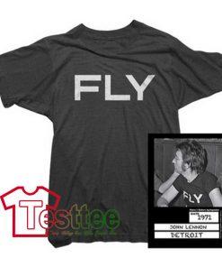 Cheap Vintage John Lennon Fly Tee