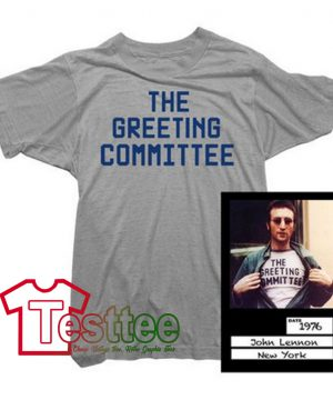 Cheap Vintage John Lennon The Greeting Committee Tee