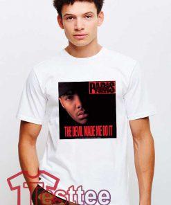 Cheap Vintage Eminem Paris The Devil Made Me Do It Tee