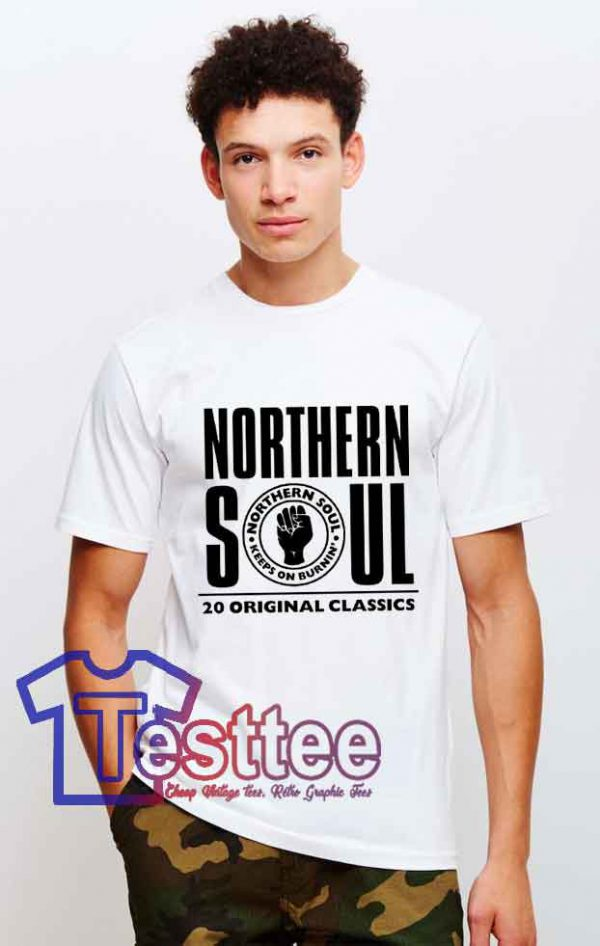 Cheap Vintage Northern Soul Tees