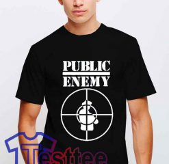 Cheap Vintage Public Enemy Band Tees