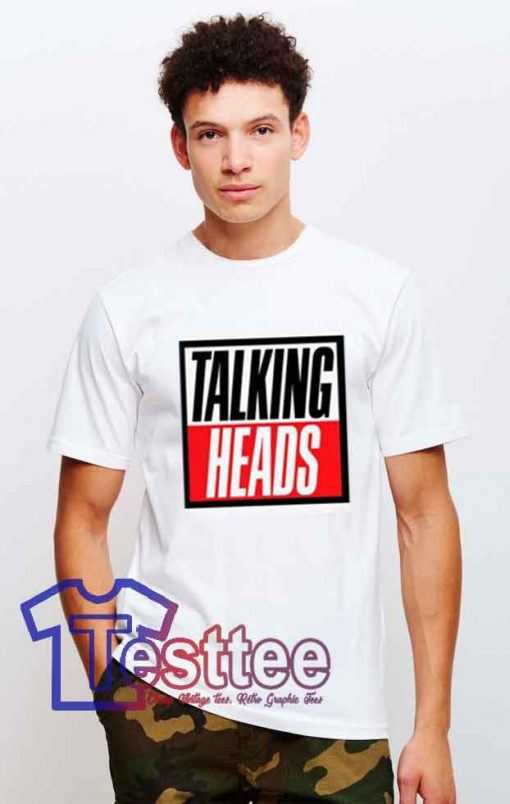 Cheap Vintage Talking Heads Tees