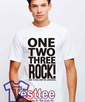 Cheap Vintage One Two Three Rock Tees