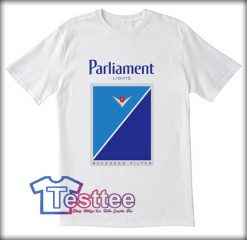 Parliament Light Cigarettes Tees
