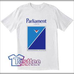 Parliament Light Cigarettes Tees