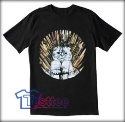 Cat Game Of Thrones Tees