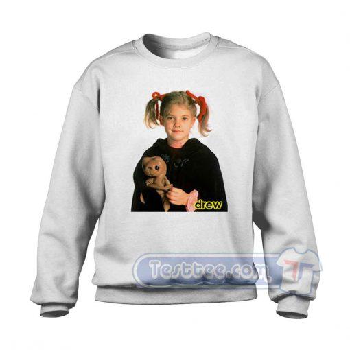 Drew Barrymore Child Sweatshirt