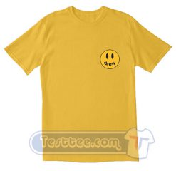 Justin Bieber Drew Smile Pocket Tees