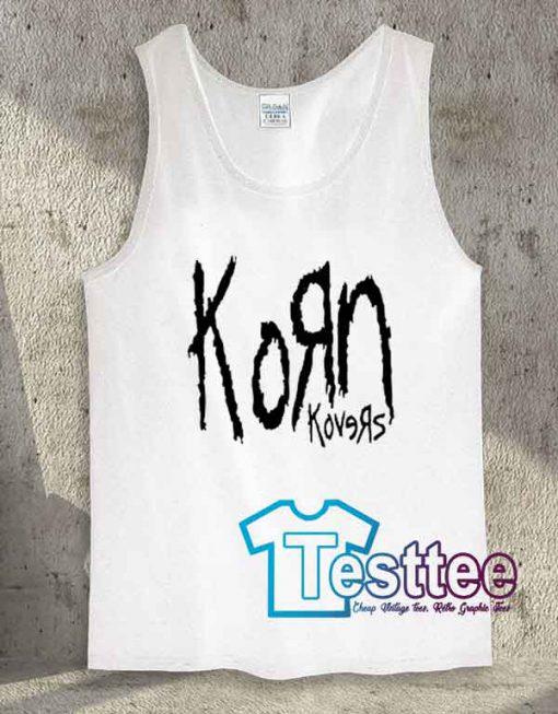Korn Konvers Albums Tank Top