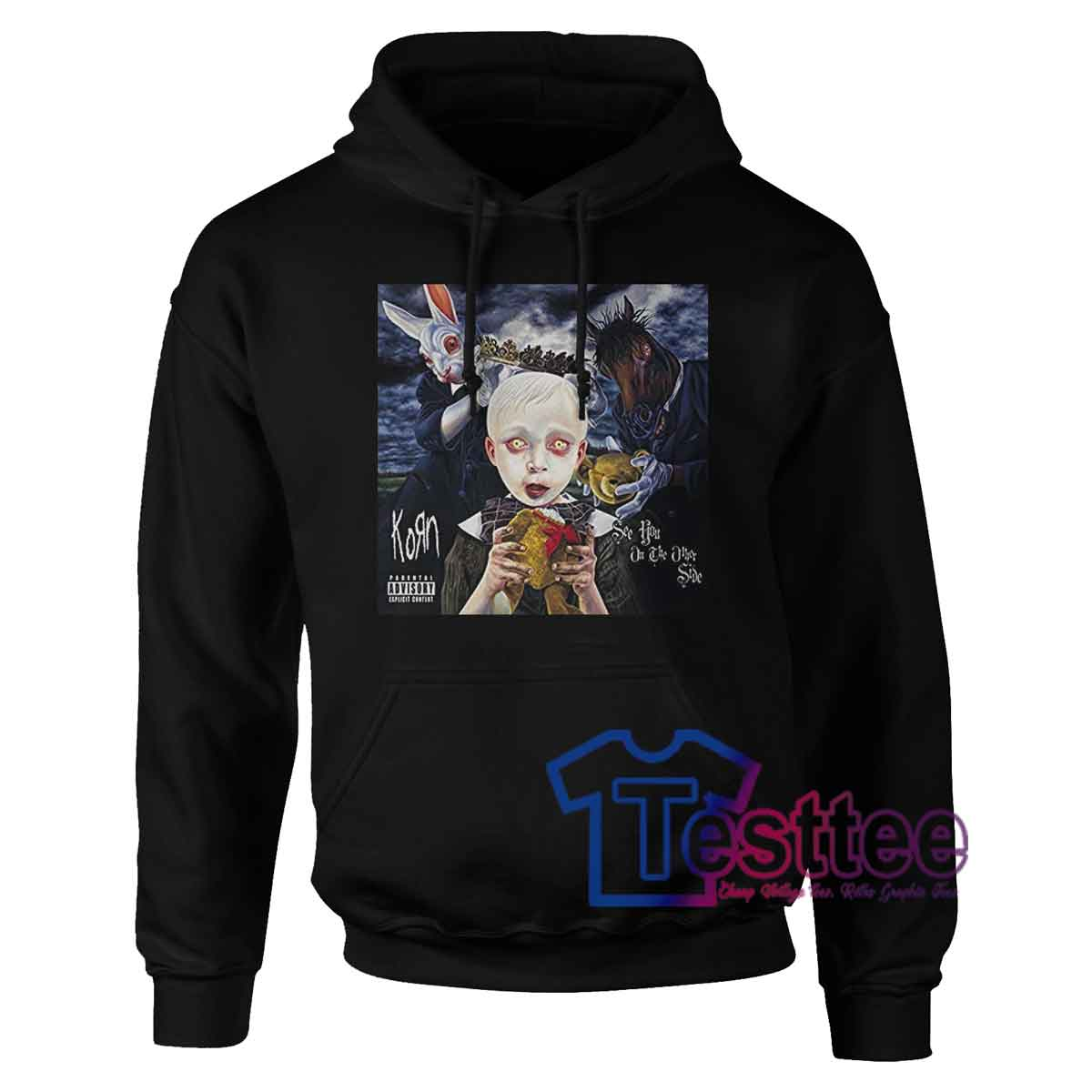 Korn See You On The Other Side Hoodie Korn Merch Testtee Com