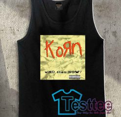 Korn Who Then Now Tank Top