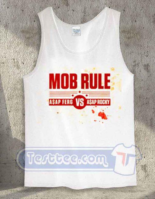 Mob Rule Asap Ferg vs Asap Rocky Tank Top