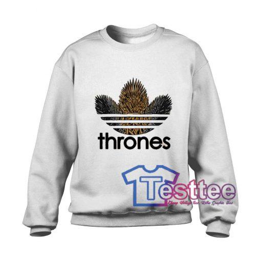 Thrones Logo Parody Sweatshirt