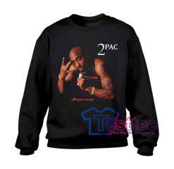 Tupac Shakur All Eyez On Me Sweatshirt