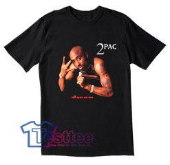 Tupac Shakur All Eyez On Me Tees