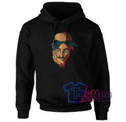 Tupac Shakur Face Hoodie