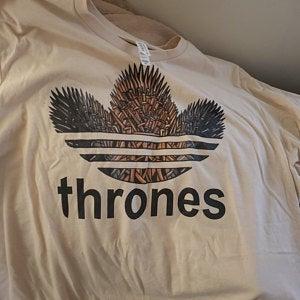 Thrones Logo Parody Tees