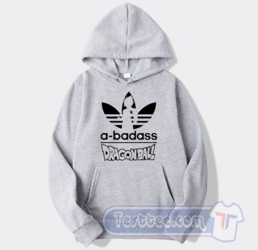A Badass Adidas Parody Dragon Ball Hoodie