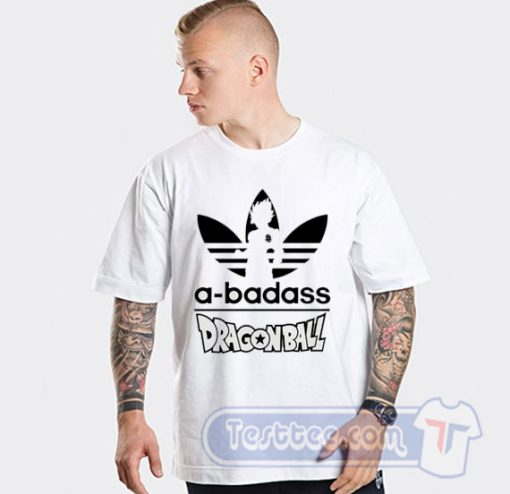 A Badass Adidas Parody Dragon Ball Tee