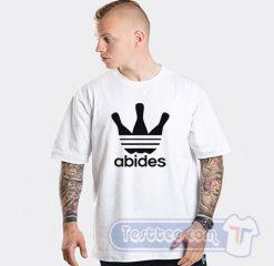 Abides Big Lebowski Adidas Parody Tee