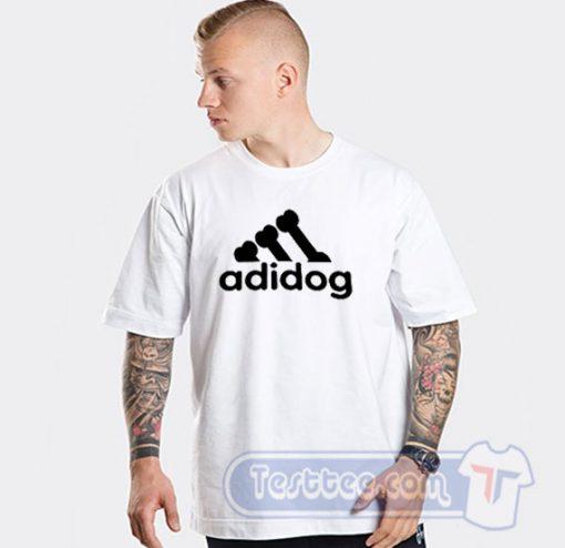 Adidog Adidas Parody Tee