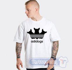 Adidogs Adidas Parody Tee