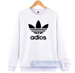 Adios Adidas Parody Sweatshirt