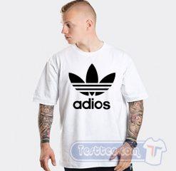 Adios Adidas Parody Tee