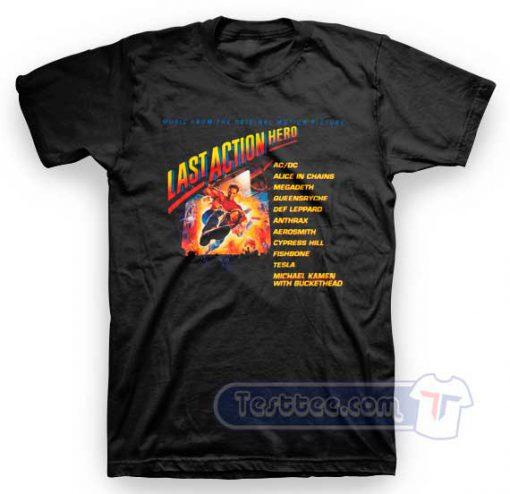 Aerosmith Last Action Hero Tees