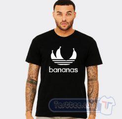 Bananas Adidas Parody Tee