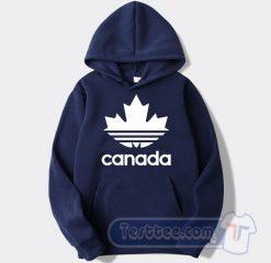 Canada Adidas Parody Hoodie