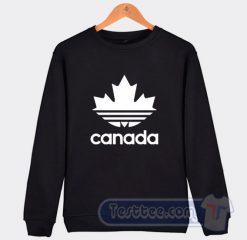 Canada Adidas Parody Sweatshirt