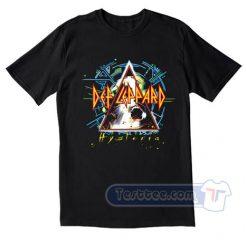Def Leppard Hysteria Album Tees