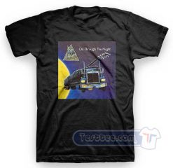 Def Leppard On Through The Night Tees