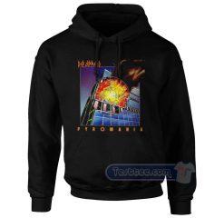Def Leppard Pyromania Hoodie