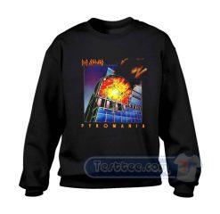 Def Leppard Pyromania Sweatshirt