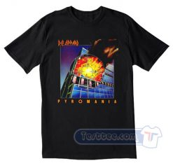 Def Leppard Pyromania Tees