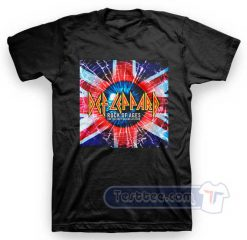 Def Leppard Rock Of Ages Tees