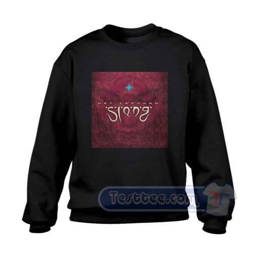 Def Leppard Slang Album Sweatshirt